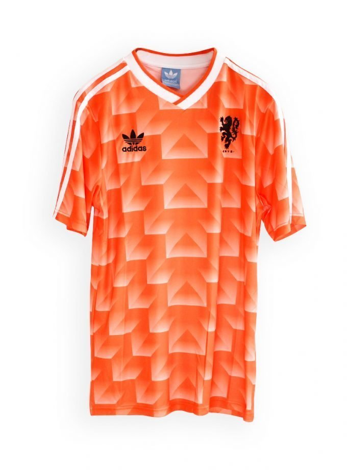Jersey Retro Futbol Holanda 1988 Local M