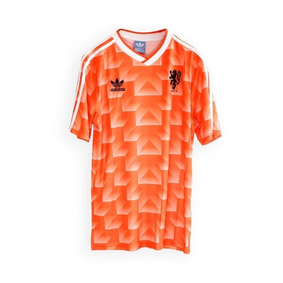 Jersey Retro Futbol Holanda 1988 Local M