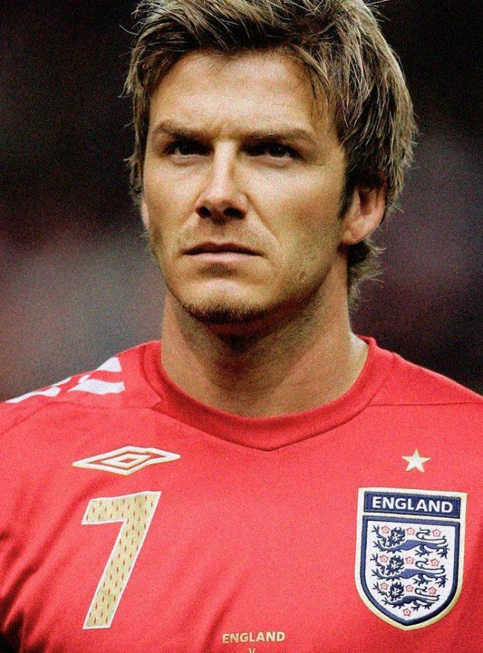 Jersey Retro Futbol Inglaterra 2006 Visitante L - David Beckham