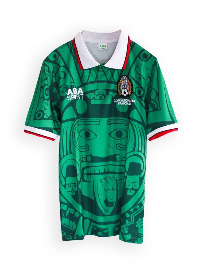 Jersey Retro Futbol México 1988 Local S