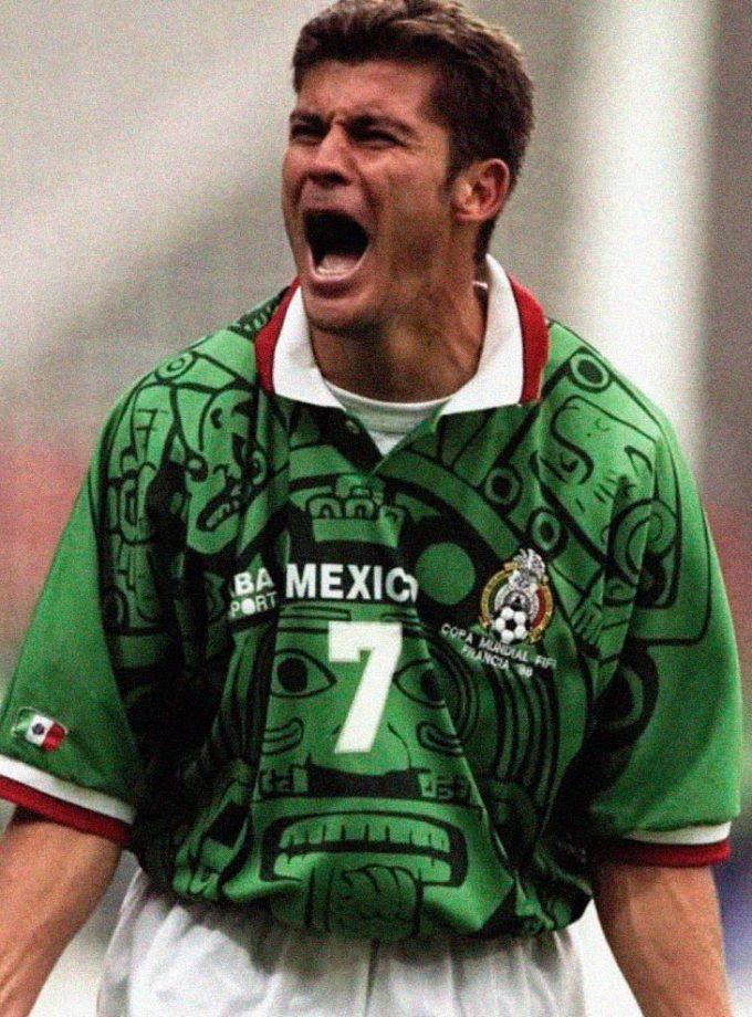 Jersey Retro Futbol México 1988 Local S - Ramón Ramírez