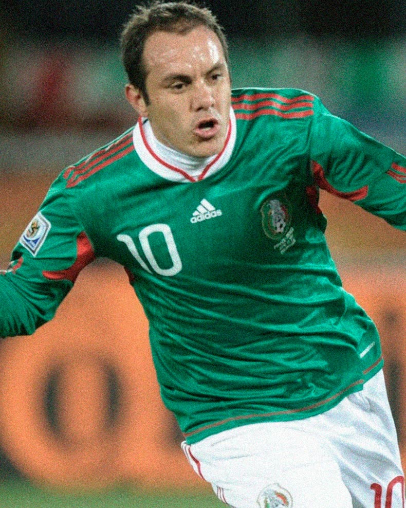 Jersey Retro Futbol Mexico 2010 Local XL - Cuahutemoc Blanco