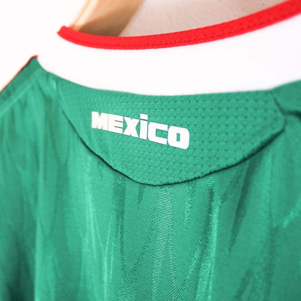 Jersey Retro Futbol Mexico 2010 Local XL